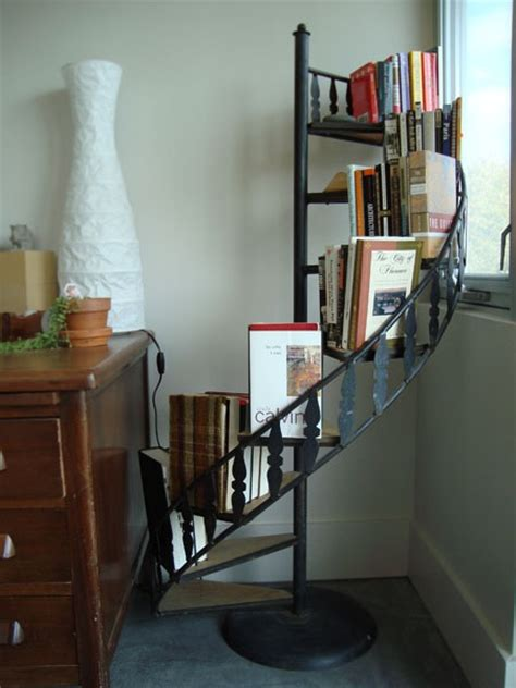 25 best ideas about staircase bookshelf on