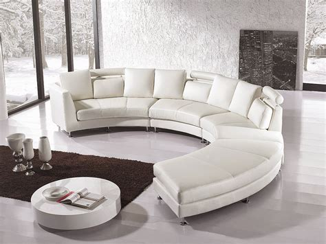 Contemporary Leather Sectional Sofa Curved Sofas And Loveseats Reviews Curved Sofa Leather