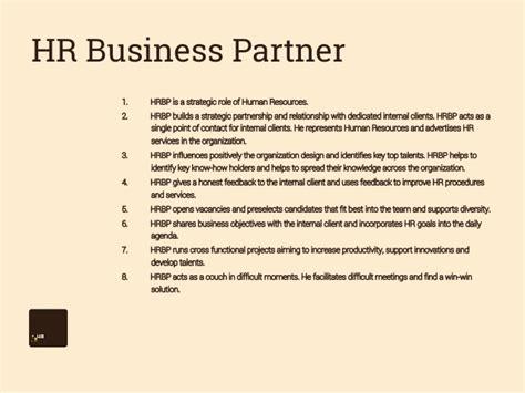 hr business partner resume sle hr business partner navigator network hr business partner