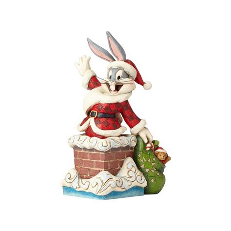looney tunes santa bugs bunny jim shore resin figurine new