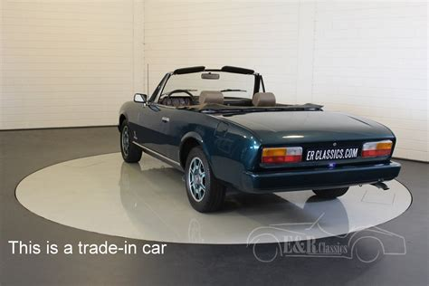 peugeot cars 1980 peugeot 504 cabriolet 1980 for sale at erclassics