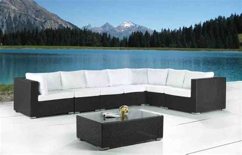 Modern Outdoor Sofas Modern Wicker Outdoor Furniture Decor Ideasdecor Ideas