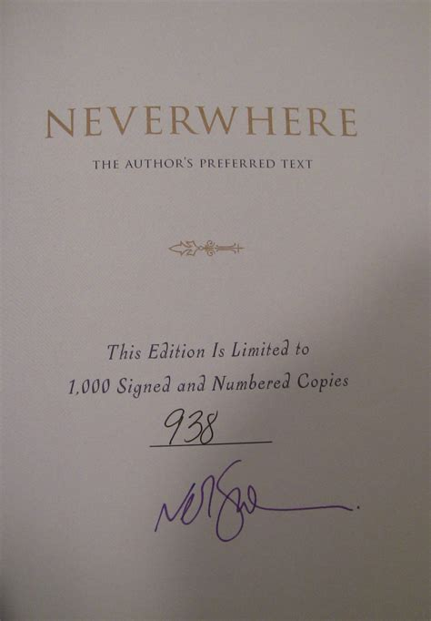 neverwhere authors preferred text 0062476378 neverwhere the author s preferred text