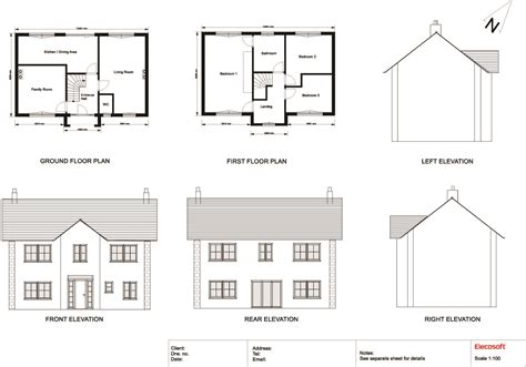 floor plans and elevation drawings 2d drawing gallery floor plans house plans