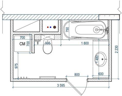 Plan Salle De Bain 5m2 1109 by Am 233 Nagement D Une Salle De Bain 3 Plans Astucieux