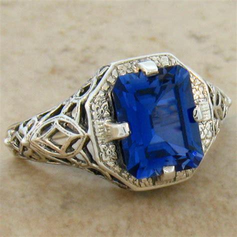 antique rings antique rings blue sapphire