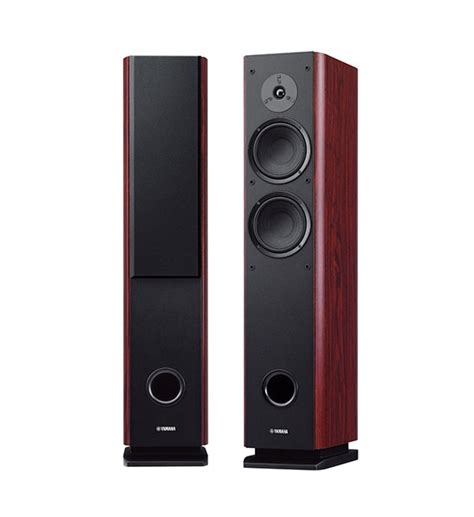 Yamaha Floor Standing Speakers by Yamaha Ns F160 Floor Standing Speakers Review And Test