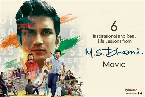 dhoni biography movie name 6 inspirational and real life lessons from m s dhoni