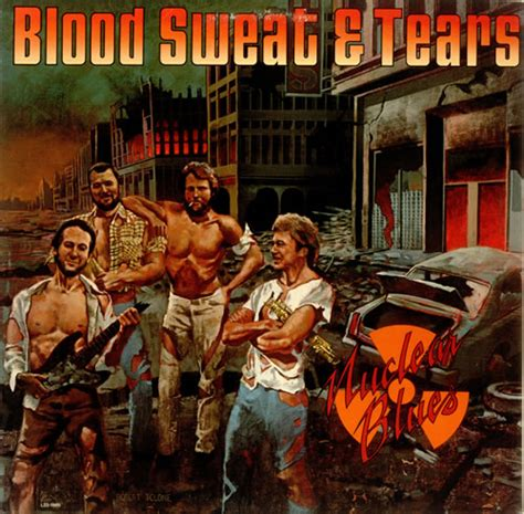 nuclear blues books blood sweat tears nuclear blues orange vinyl us promo