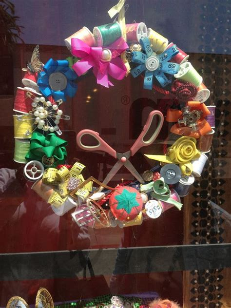 Handmade Craft Shop - wreaths display and dr who on