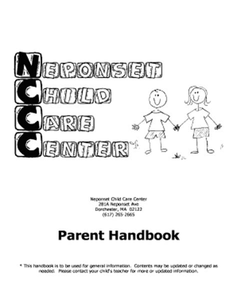 Fillable Sle Letter To Teacher From Parent About Child S Behavior Edit Print Download Child Care Parent Handbook Template