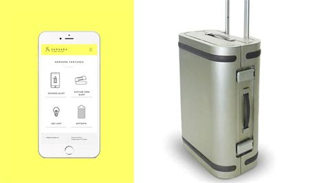 L Gread Alumumium Designt the samara smart strong and sturdy suitcase is made from aircraft grade aluminium