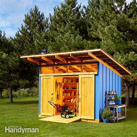 family handyman garden shed 2015 shed the family handyman storage shed plans and