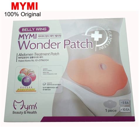 Mymi Patch Slimming Patch Paha 5pcs mymi slimming patch belly abdomen weight loss burning slim patch navel