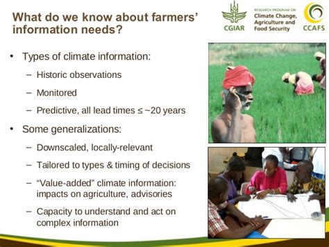 Do You Want To A Farmer From Lubbock 2 by Why Do Farmers Need Climate Services And Hansen 2013