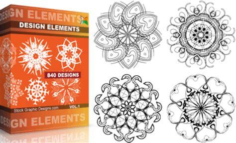 design elements for photoshop design elements vector photoshop brushes stock