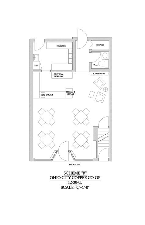 small shop floor plans best ergonomic space plan for coffee shop google search