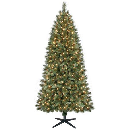 walmart decorative pine trees time 7ft scottsdale pine tree clear walmart
