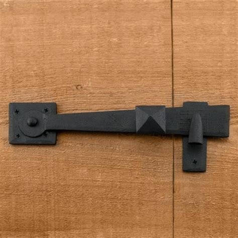 rustic door hardware rustic forged iron gate latch hardware