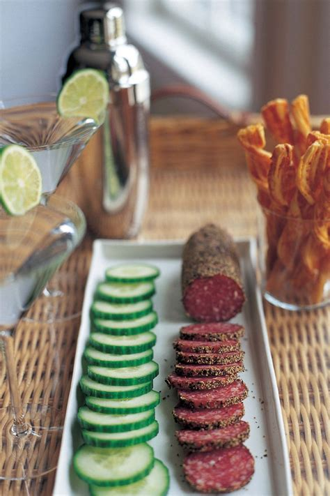 ina garten hors d oeuvres i love serving no cook hors d oeuvres such as sliced spicy salami and hothouse cucumbers they