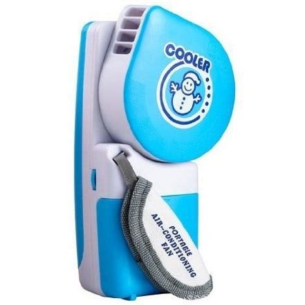 Ac Portable Rp handheld mini portable air conditioner usb fan blue