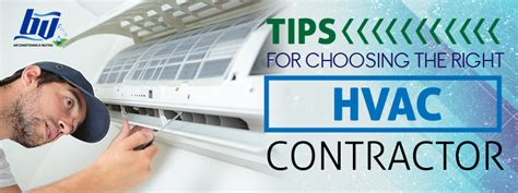 a guide for choosing whether tips for choosing the right hvac contractor
