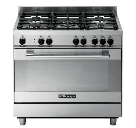 Oven Gas Tecnogas tecnogas ptv998xs pro range cooker