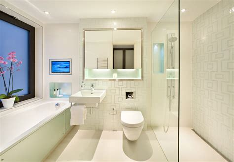 Modern Homes Bathrooms Home Interior Design
