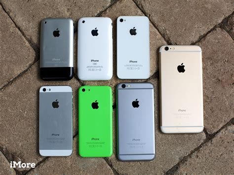 iphone one from iphone to iphone 6 plus in pictures imore