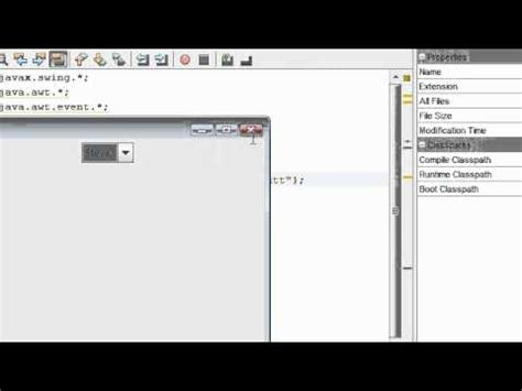 box pattern in java java tutorial 14 combo boxes in java youtube
