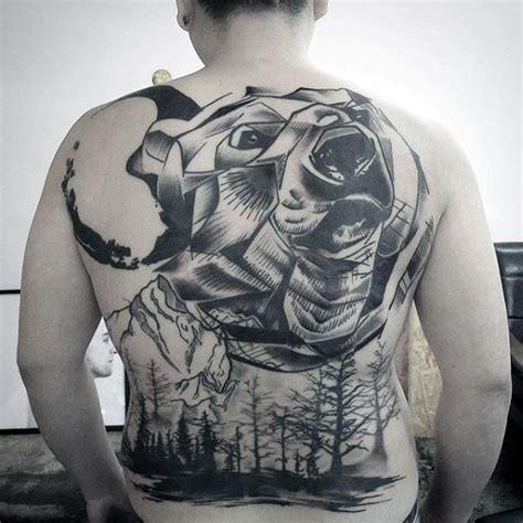 tattoo back forest 100 forest tattoo designs for men masculine tree ink ideas
