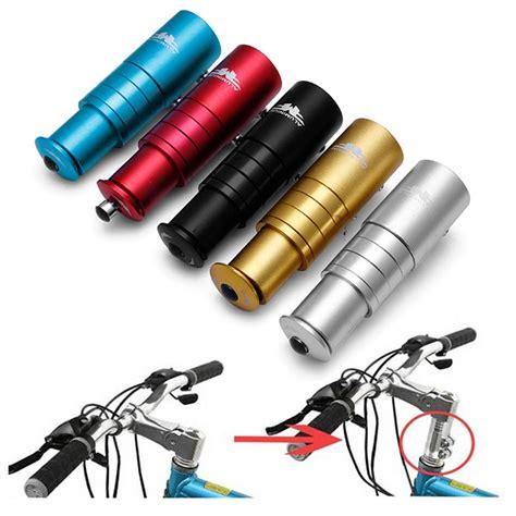 Fork Extender Sepeda Aluminium aluminium alloy stem bike bicycle fork stem extender handlebar riser up adapter free