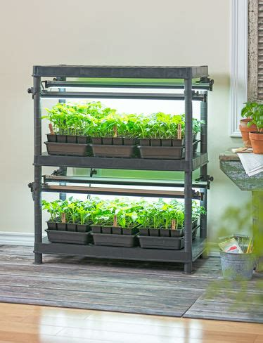 Gardeners Supply Grow Lights Stack N Grow Light System Exclusively From Gardener S Supply
