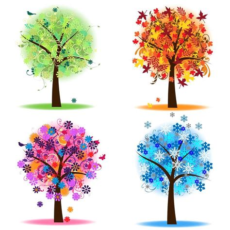 tree seasons come seasons four seasons trees clipart clip art spring summer winter fall autumn clip art clipart