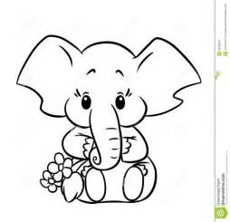 baby elephant coloring pages 17 best ideas about images of elephant on pics
