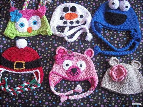 imagenes gorros infantiles fotos de gorros tejidos en crochet forma de animales nace