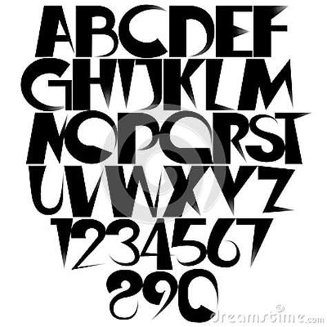 creative font stock vector image
