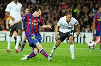 you cannot stop lionel messi football world drools over chions league in pictures how barcelona s lionel