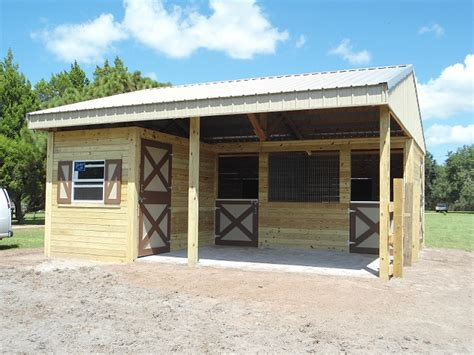 Two Stall Horse Barn Woodys Barns Home