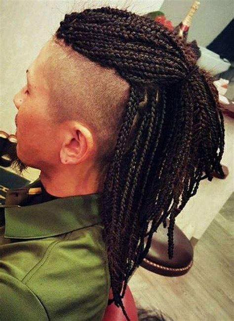 mohawk twists hairstyle men 40 upscale mohawk hairstyles for men mohawks box and