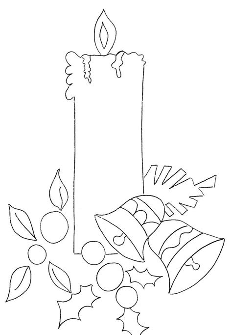 manualidades con fotografias az dibujos para colorear velas para colorear navidad tu revista navide 241 a
