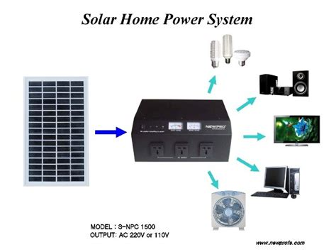 basic home solar power system how to solar power your home