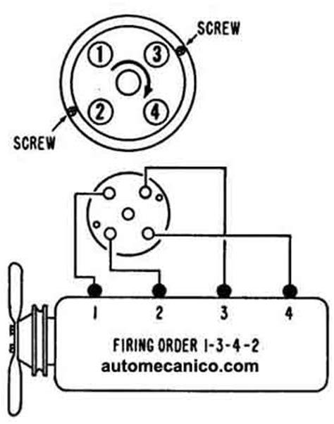 Chevrolet - Orden de encendido, Firing Order - 1964/70