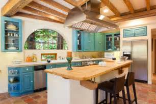 Southwest Kitchen Design French Country Mediterranean Style Home In Oakland Ca