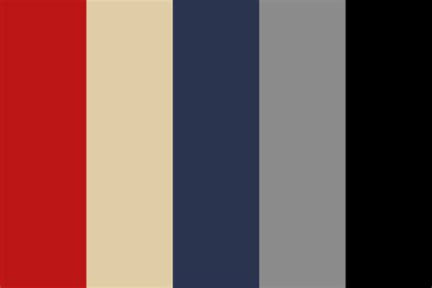 nautical colors nautical red color palette