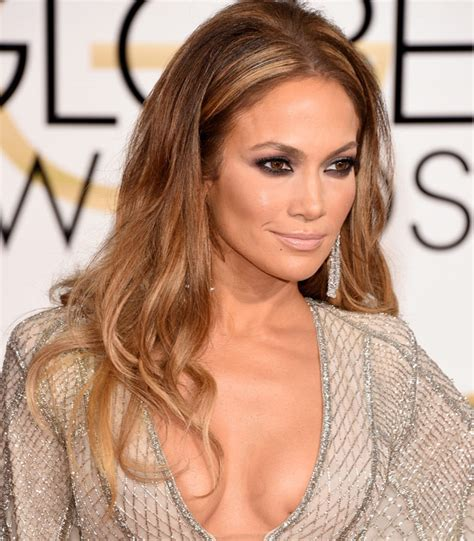 jlo hair color 2015 best beauty looks golden globes 2015 be beautiful