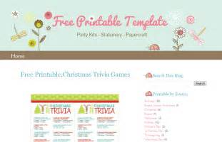 template free free blogging templates template design