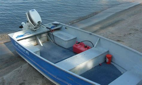 used 14 foot aluminum boats for sale ontario 14 aluminum boat with 20hp for sale from parry sound