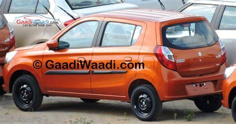 Maruti Suzuki New Alto K10 New Maruti Alto K10 Spotted Taillight Indian Autos