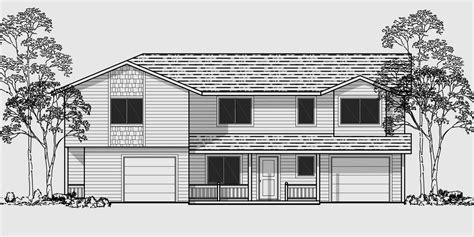two story duplex plans corner duplex house plans duplex house plans